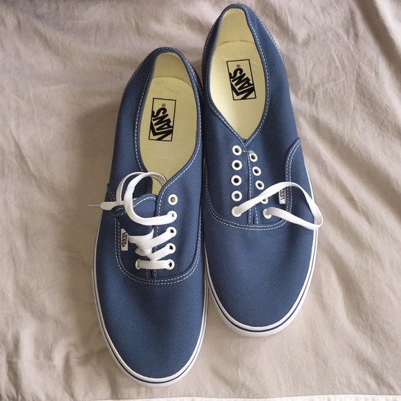 "Vans ""off the wall"" men s navy shoes. Size 14 d9535646f"
